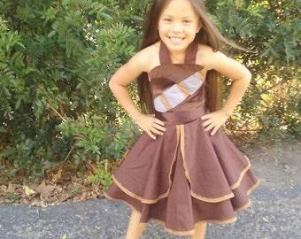Chewbacca Inspired dress