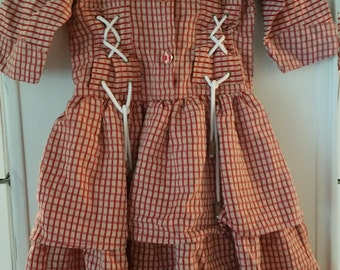 Vintage young girls dress