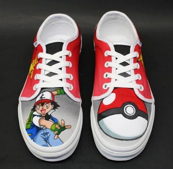 Pokemon Vans Shoes Size