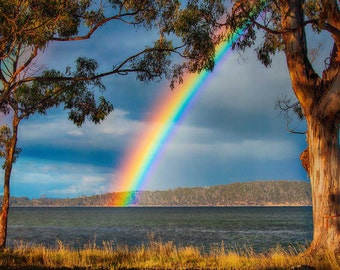 Double Rainbow Gordon Tasmania