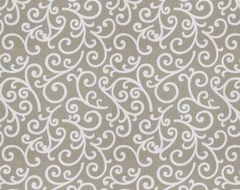 Swirl Fabric - You Pick Your Pleat Style
