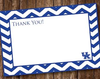 Kentucky Wildcat Thank You Card