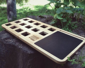 Lap Desk with Mousepad, Mobile LapDesk, Laptop stand, Personalized Gift, Wooden, Exclusive