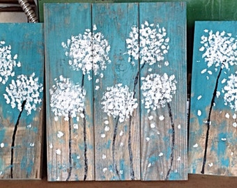 Dandelions (set of three)