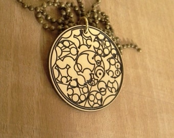 Doctor Who jewelry TIme Lord necklace Gallifreyan necklace Symbol Doctor who jewelry dr who necklace Tardis timelord time lord companion