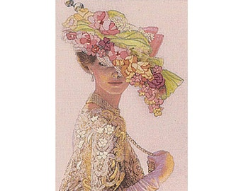 Embroidery Kit - Crewel Embroidery Kits - Dimensions - Genteel Lady - Flowers - #06201