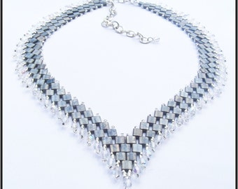 """Necklace """"This Beautyful grey"""""""