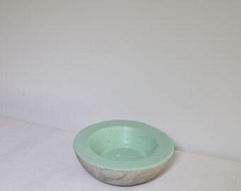 Concrete Trinket Bowl