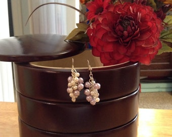 Grape Vine Earrings