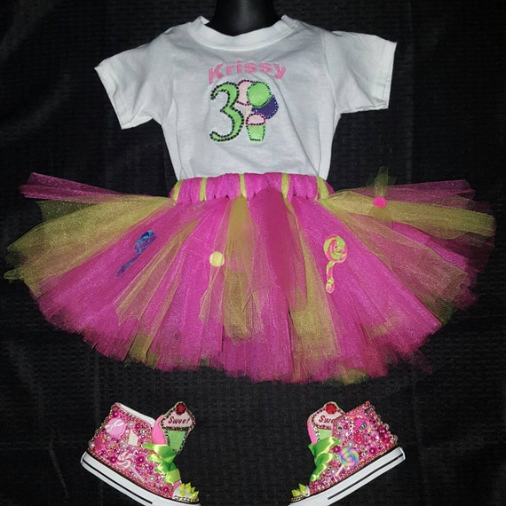 Personalized Bling Tutu Set****SHOES NOT INCLUDED*****