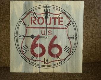 Route 66 clock