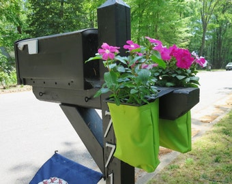 Mailbox Planter - Hanging Planter - Succulent Planter - Deck Planter - Garden Decor - Flower Pot - Outdoor Planter - Hanging Pot