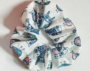 Owl Scrunchie