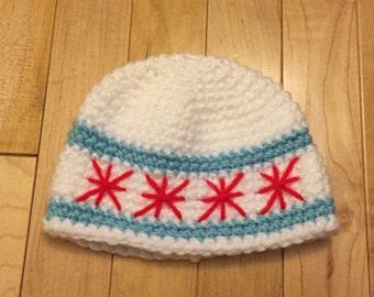 Kids Chicago Flag hat