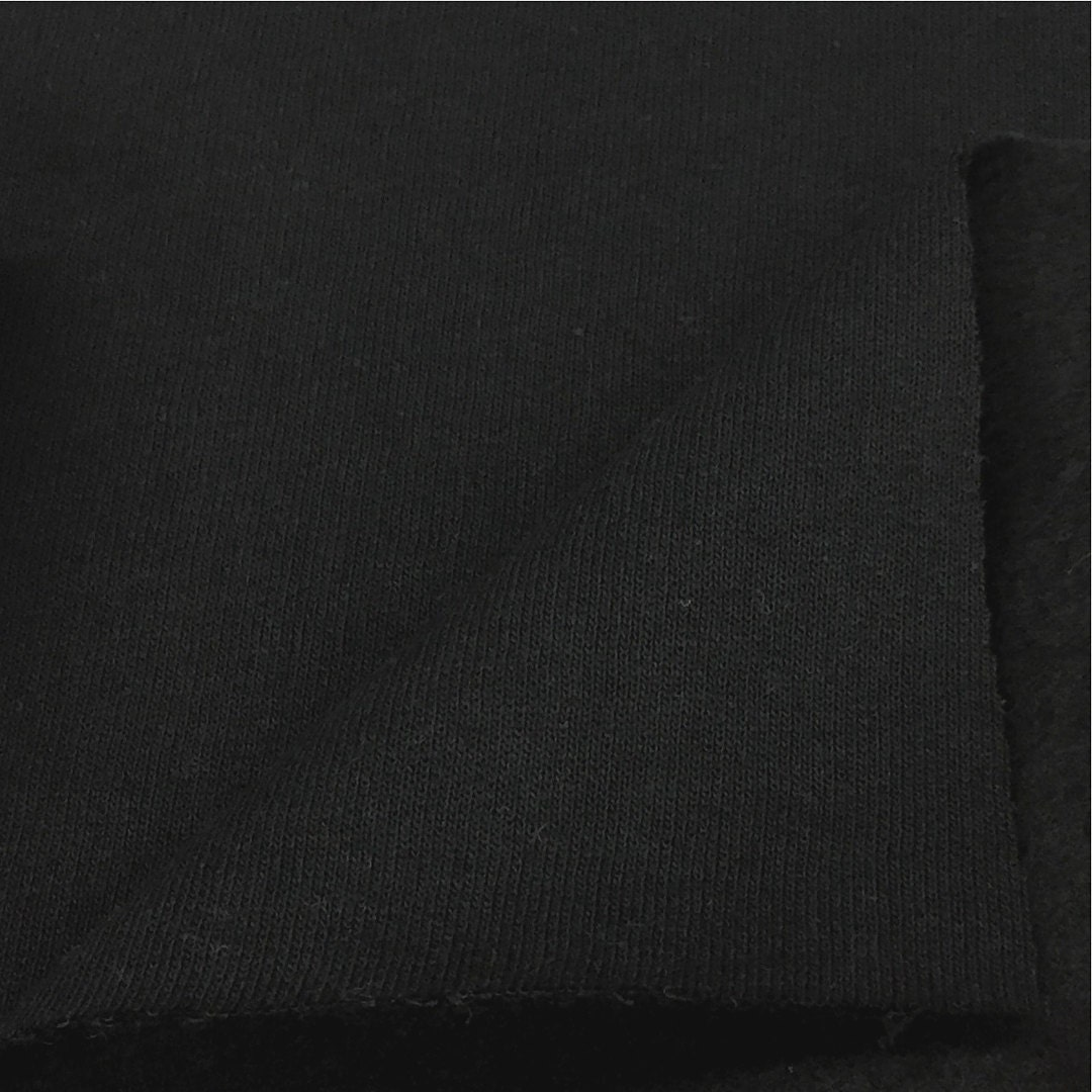 cotton blend fleece fabric by the yard wholesale price available by the bolt 8021 black 1 yard. Black Bedroom Furniture Sets. Home Design Ideas
