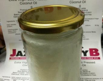 500ml jar Extra virgin coconut oil