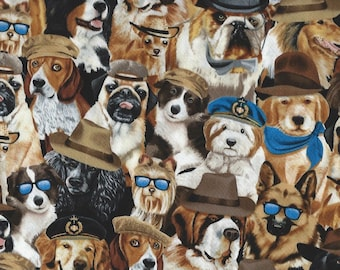Dogs with Hats Timeless Treasures