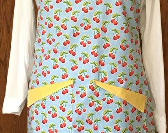 Apron, Cherries, A1606
