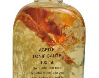 Oil toning body 100 ml.