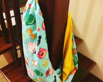 Toy Story inspired infinity scarf