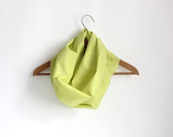 Loopschal cloth lime / fine cotton