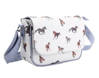 TaylorHe Cross Body Bag Handbag Majestic Horses.