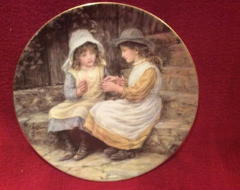 Wedgwood Yesterdays Child, Cats Cradle By Caroline Patterson
