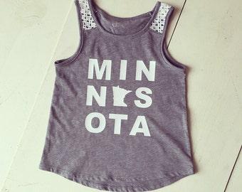 Girls MN tank