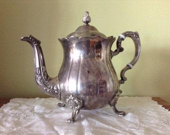 Leonard Silverplate Teapot