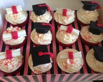Graduation Cupcake/Cake Toppers