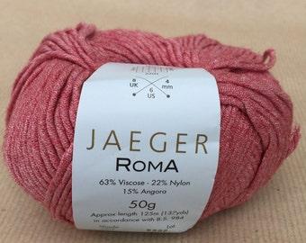 9 balls of Jaeger Roma yarn