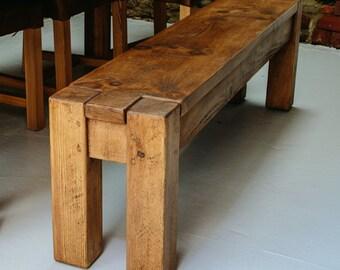 Lumber Plank Bench