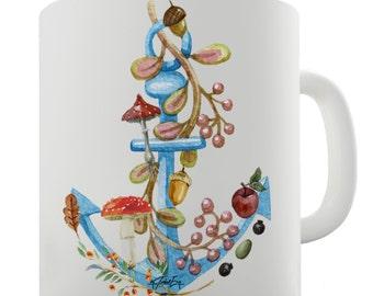 Anchor Lost at Sea Ceramic Mug