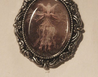 CROWNED FAIRY  NECKLACE