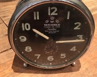 Wehrle vintage 3 in 1 alarm clock