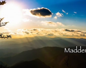 Mountain Photography Photo Gift