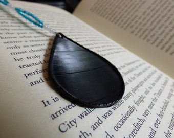 Vinyl Beaded Bookmark