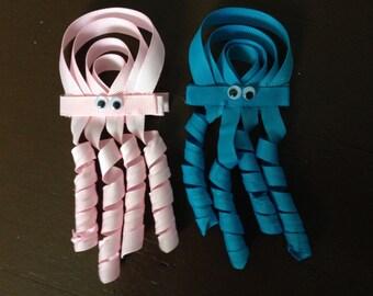 Jelly Fish Ribbon Sculptures/ Hair Bows