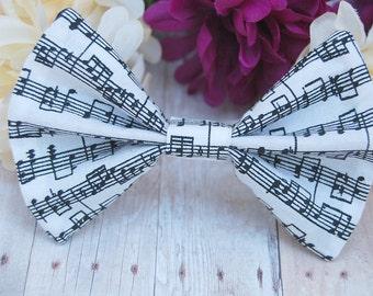 Sheet Music Bow // Student, Novelty, Musician, Concert