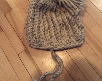 Wool hat for kid