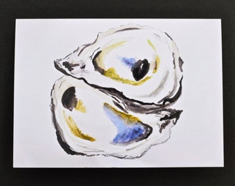 Oyster Notecards