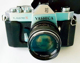 Vintage Yashica TL Electro X 35mm Camera