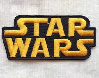 Starwars Logo Iron On Patch #Yellow