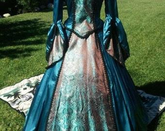 Hand sewn Renaissance dress