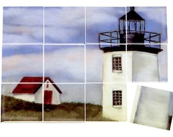 Lighthouse Ceramic Mural