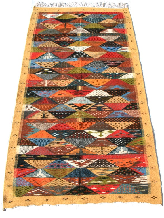 Boho Rug Runner Carpet Runner Rug Stair Runner Diamond By