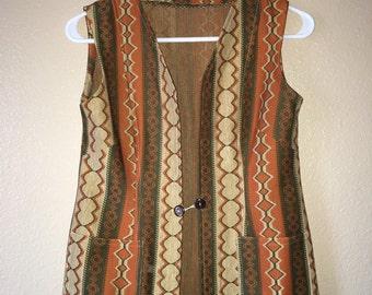 70s tree lover vest
