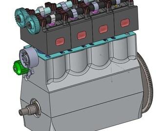 4stroke - digital 3D modeling engine