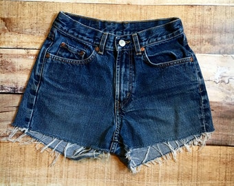 Size 2 Vintage Lucky High Waisted Shorts