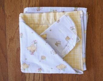 Crochet Baby Blanket and Bib